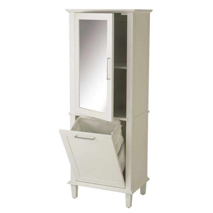 Home Decorators Collection Sonoma 23 In W X 60 In H X 15 In D Linen Cabinet In White