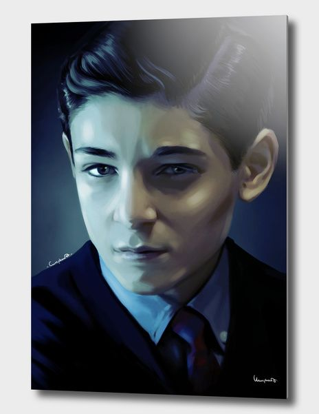 Discover «Bruce Wayne», Exclusive Edition #davidmazouz #dccomics #gotham #tvseries #batman #batmanuniverse #interiordesign #illustration #digitalpainting #portrate #posterart #posterportrate #blue #night #dark #gothamcity #arkamasylum