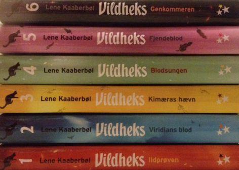De seks vildheks bøger