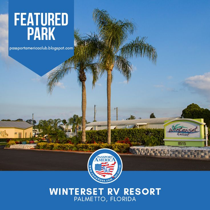 Located In Sunny Palmetto Winterset Rv Resort Is The Ideal 55 Rv Resort Community For Active Senior Living Whether You Are A Y In 2020 Resort Florida Campgrounds Rv