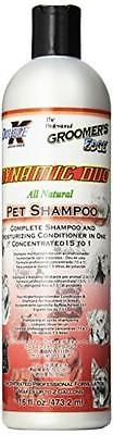 Groomer's Edge Dynamic Duo Dog and Cat Shampoo/Conditioner, 16-Ounce, New, Free