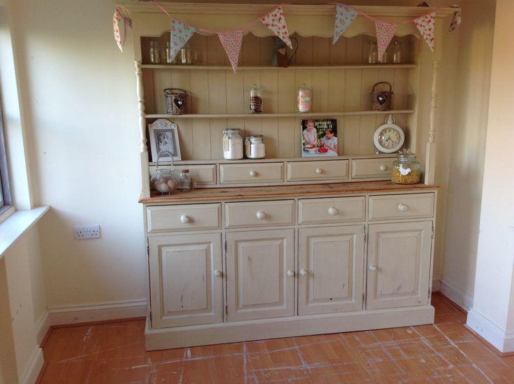 Huge Welsh Dresser, refurbished and looking gorgeous!