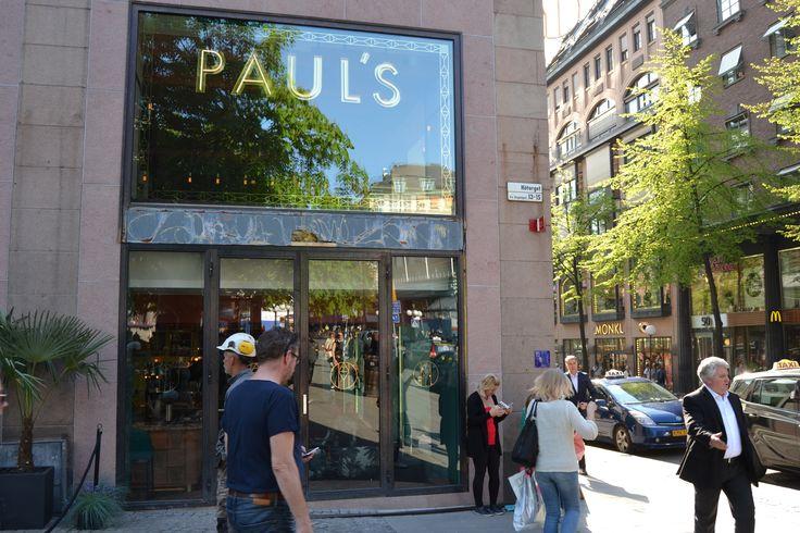 Paul's Stockholm Haymarket by Scandic Exterior Signage LPFLEX