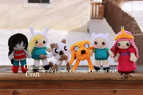{Adventure Time} Amigurumi Crochet Patterns—-Coming Soon! https://www.facebook.com/OhanaCraft