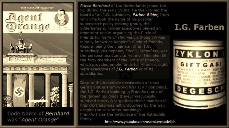 The Agent Orange, Prince Bernhard, Bilderberg IG-Farben, Monsanto, Phara...