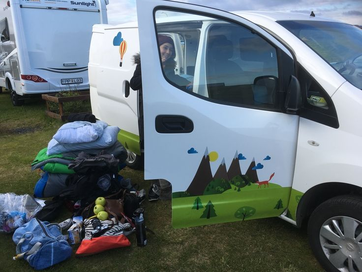 Follow Kathy Rebecca As They Battle The Elements On Their Camper Van Holiday In Iceland