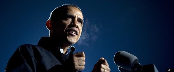 Obama Elected 2012