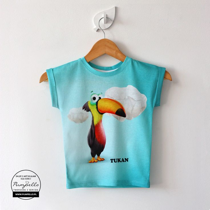Tukan koszulka dla dzieci