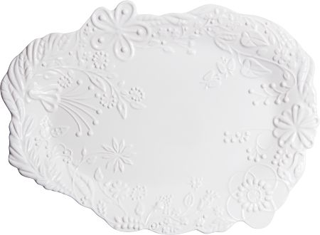 "Mateus - Lake Platter by Tord Boontje, 45X32CM / 17,7""X12,6"" 
