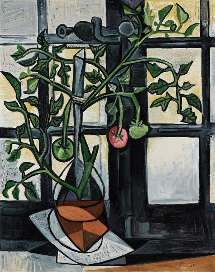 Pablo Picasso - Plant de Tomato 1944