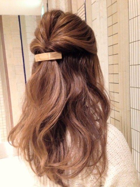 【定番】ハーフアップのヘアアレンジ♡ - biche(ビーチェ)