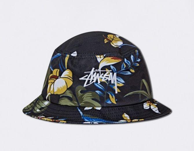 #Stussy - Bucket Hat Paradise - Black