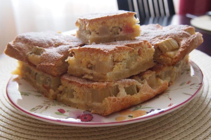 Пирог с ревенем из слоёного теста ( в тч готового): рецепт + фото и видео