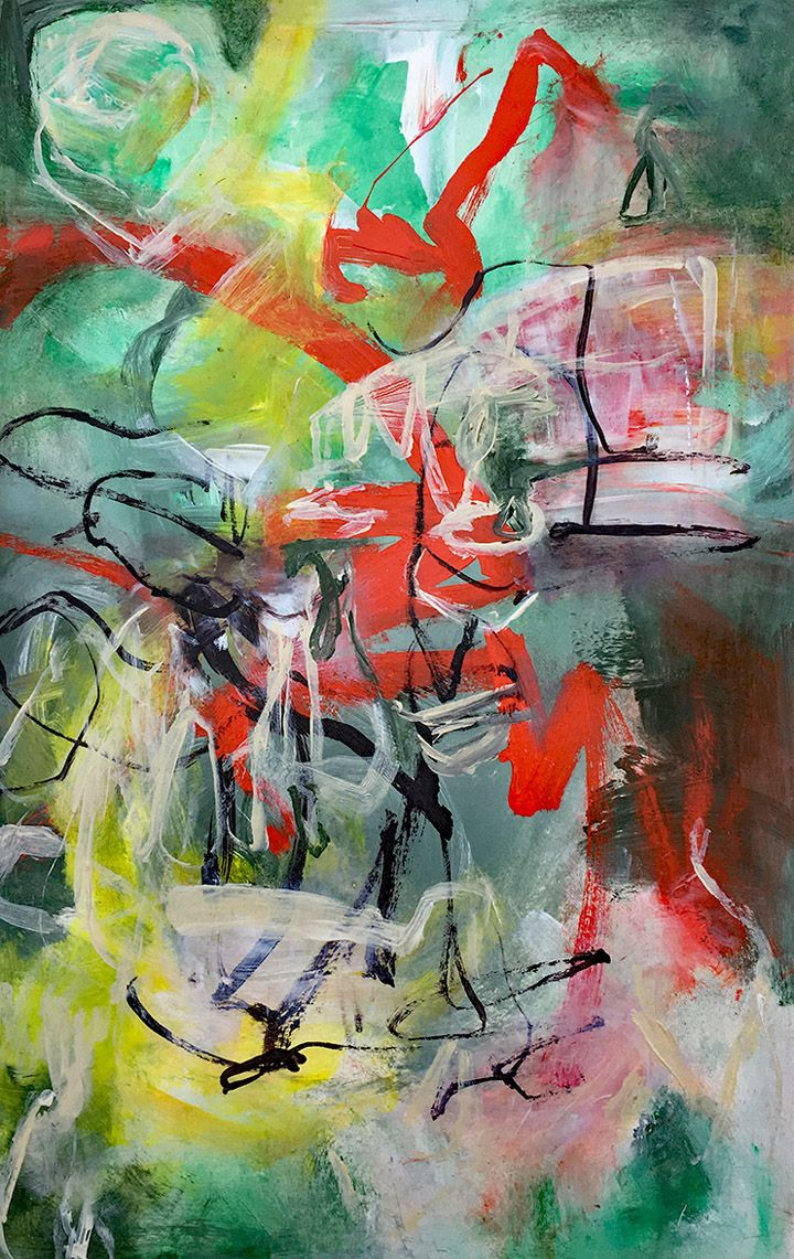 Top 10 Abstract Artists To Watch In 2018 Pinturas Abstractas