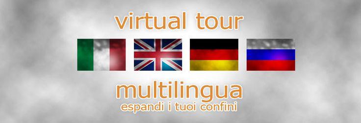 Comunica in multilingua con i visitatori di virtual tour immobiliari.