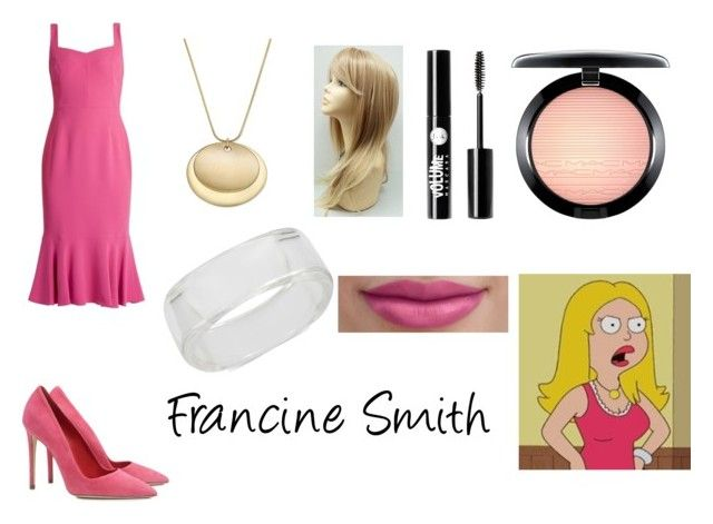 """""""Francine Smith"""" by aalittles ❤ liked on Polyvore featuring Dolce&Gabbana, Dee Keller, INC International Concepts, Charter Club, Charlotte Russe and MAC Cosmetics"""