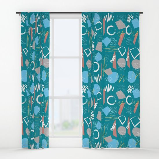 Pattern 5 B Window Curtains