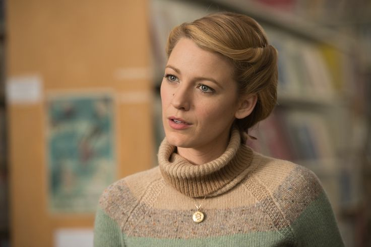 Blake Lively wears a Gucci sweater in The Age of Adaline. #costumedesign #fashion