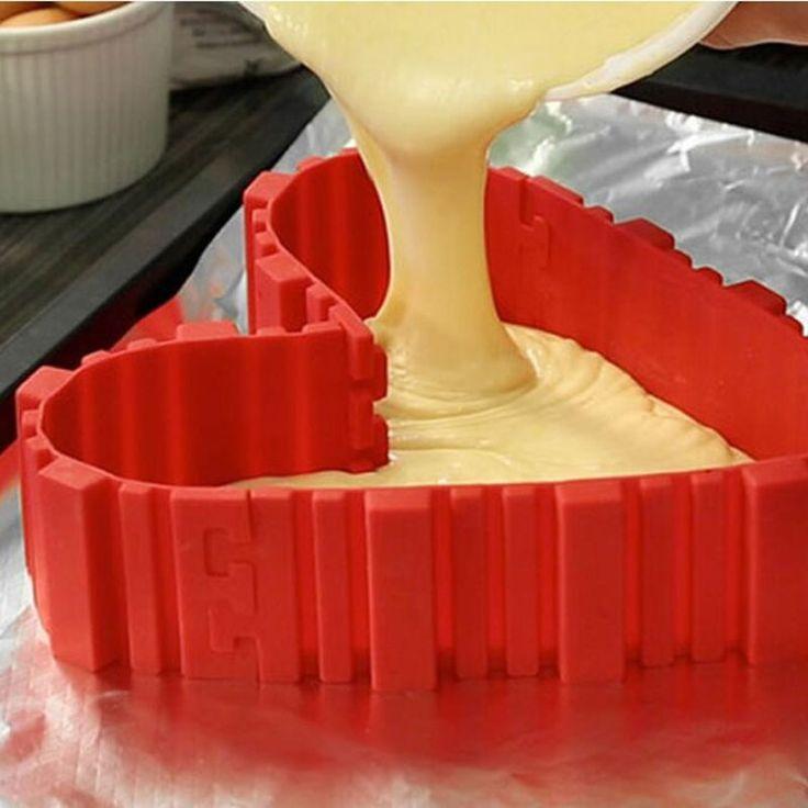 2017 Mới Nóng Bán 4 Cái/lốc Ma Thuật Nướng Rắn Thực Phẩm Grade Silicone bánh mold nướng diy tất cả các loại khuôn bánh nướng công cụ HK123