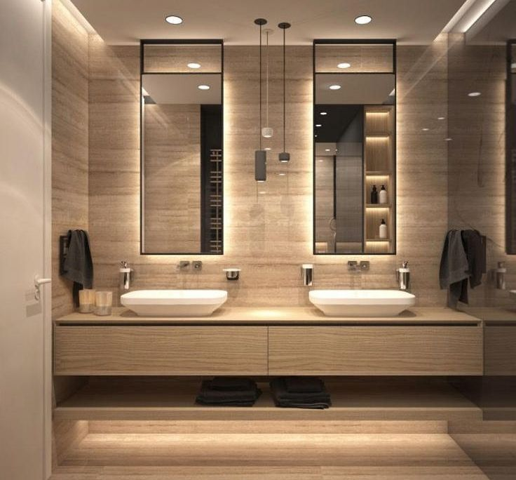 54 Beautiful Bathroom Design Ideas For Inspiration Modern