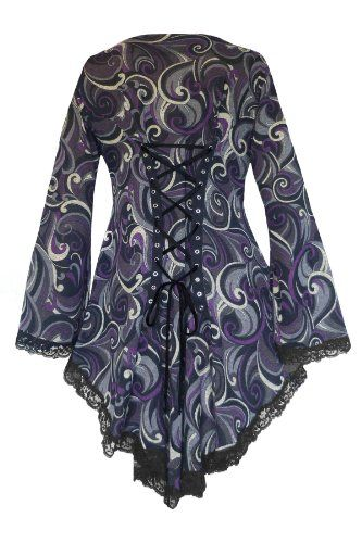 A Sweater from Dare Fashion?! It's Arrived! Dare To Wear Victorian Gothic Women's Plus Size Embrace Corset Sweater in Purple Spell. Comes in Size S-5X http://www.amazon.com/dp/B00JV8KB5Q/ref=cm_sw_r_pi_dp_aVrItb1V7SX3FABW