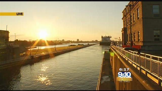 MTM On The Road: Soo Locks Engineers Day - Northern Michigan's News Leader
