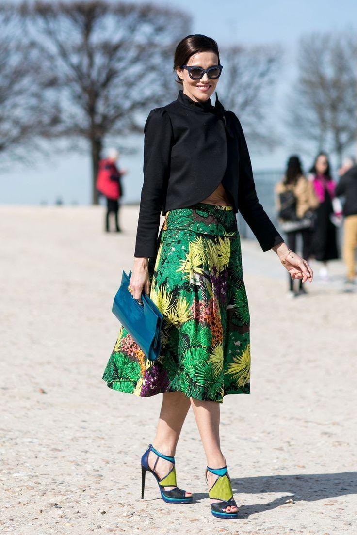 Tropical skirt