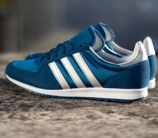 adidas Originals Adistar Racer Satin-Tribe Blue-Metallic Silver