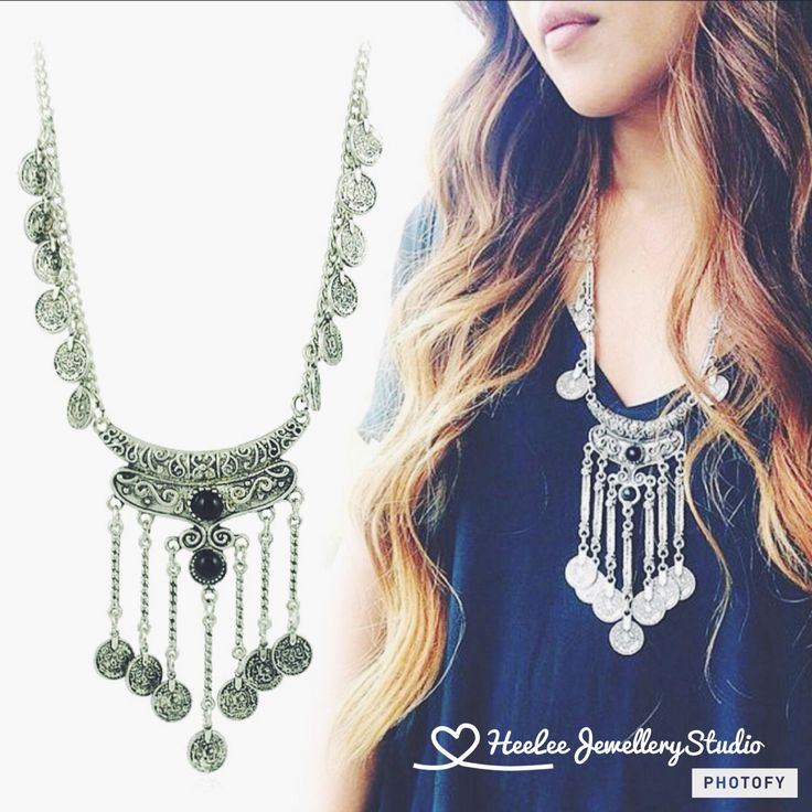 The beautiful gypsy coin necklace