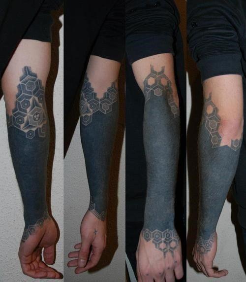 50 Amazing Blackwork Tattoos   Tattoos Mob   Art just like ...