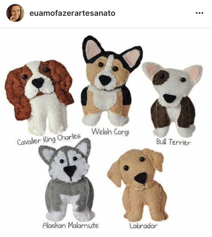 Felt dogs - Tap the pin for the most adorable pawtastic fur baby apparel! You'll love the dog clothes and cat clothes! <3