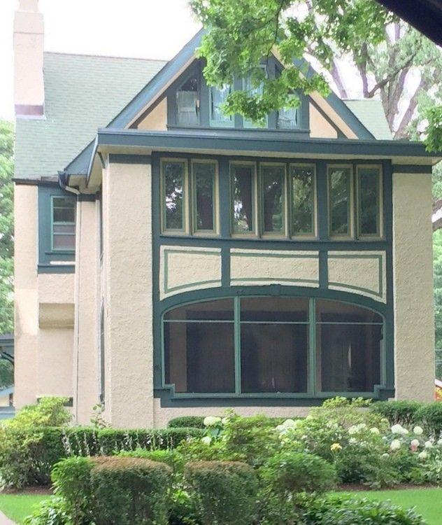 Exterior Paint Colors In Frank Lloyd Wrights Oak Park