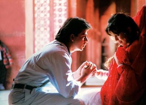 Shahrukh Khan and Mahima Chaudhary.