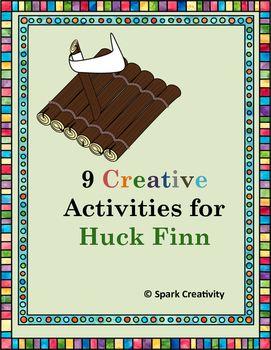 $3.99 Nine creative activities to slot anytime in a Huck Finn Unit. Huck Finn on Kickstarter! Huck's Modern Road Trip!