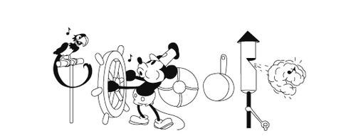 18 de noviembre - Estreno del cortometraje animado Steamboat Willie, primera aparición de Mickey Mouse.