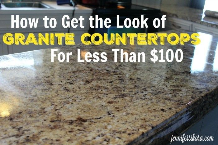 Getting that Granite Look Without the Granite Price -