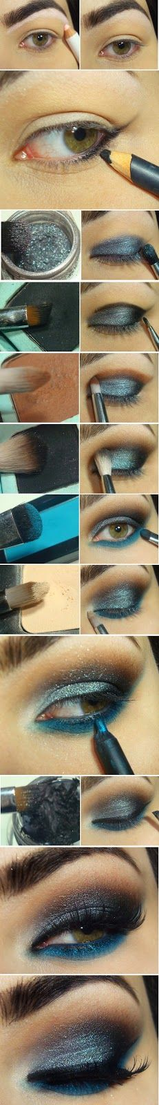 Leaded Shade and Blue Makeup Tutorials / Best LoLus Makeup Fashion
