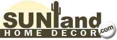 Sunland Home Decor has a wide variety of southwestern furniture and accessories.