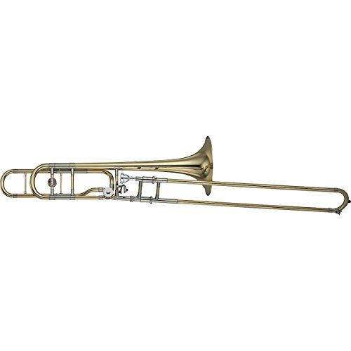 Yamaha YSL-882O Xeno Series F-Attachment Trombone Lacquer Yellow Brass Bell *** Want to know more, click on the image.