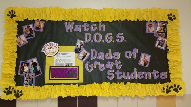 Watch D.O.G.S bulletin board
