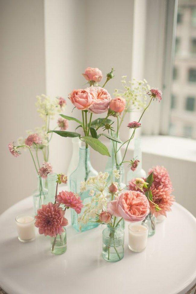 Tischdeko frühlingsblumen hochzeit  Die besten 25+ Wildblumen Ideen auf Pinterest | Blumenwiese samen ...