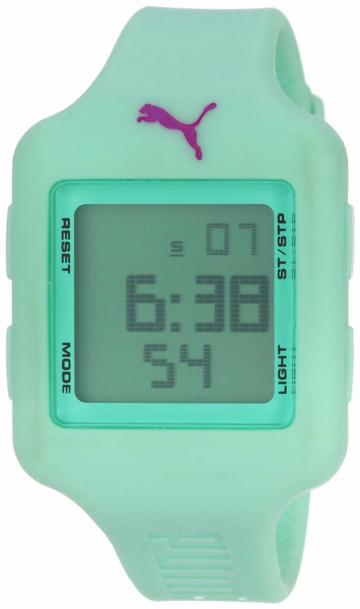 Puma Slide Small Watch > Price:$50.00 > Available Colors : * Black * Dark Purple * Deep Blue * Light Green * Light Purple * White > Click on the image for latest price and offers.