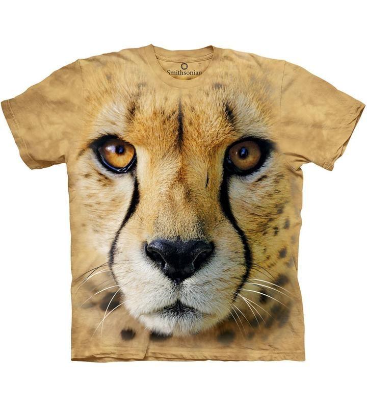 😼Big Face Cheetah T-Shirt🙀 * www PRIKID US * Write what