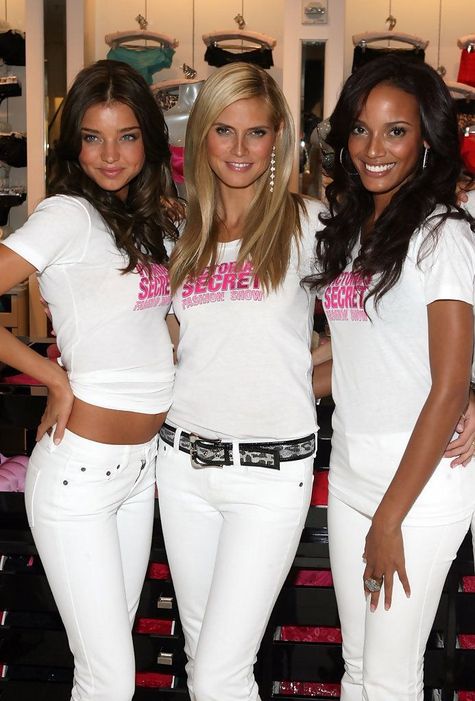 Victoria's Secret Angels Shopping Event White Jeans