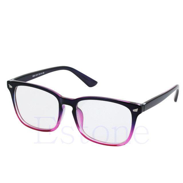 Fashion Men Women Retro Eyeglass Frame Full Rim Glasses Spectacles Hot-448E