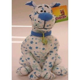 "Scooby Doo Winter Themed Winter Wonderland Snowflake 9"" Plush Doll  Order at http://amzn.com/dp/B008QPCOPK/?tag=trendjogja-20"