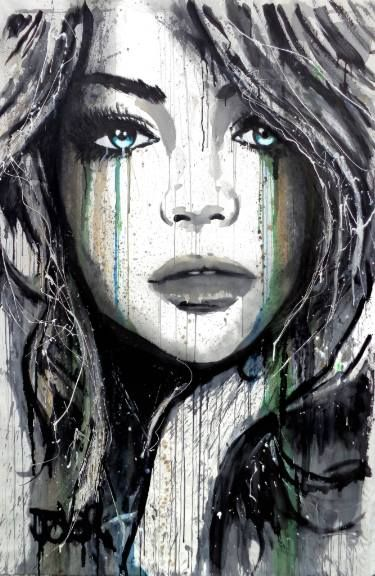 "Saatchi Art Artist Loui Jover; Painting, ""winter sun"" #art"
