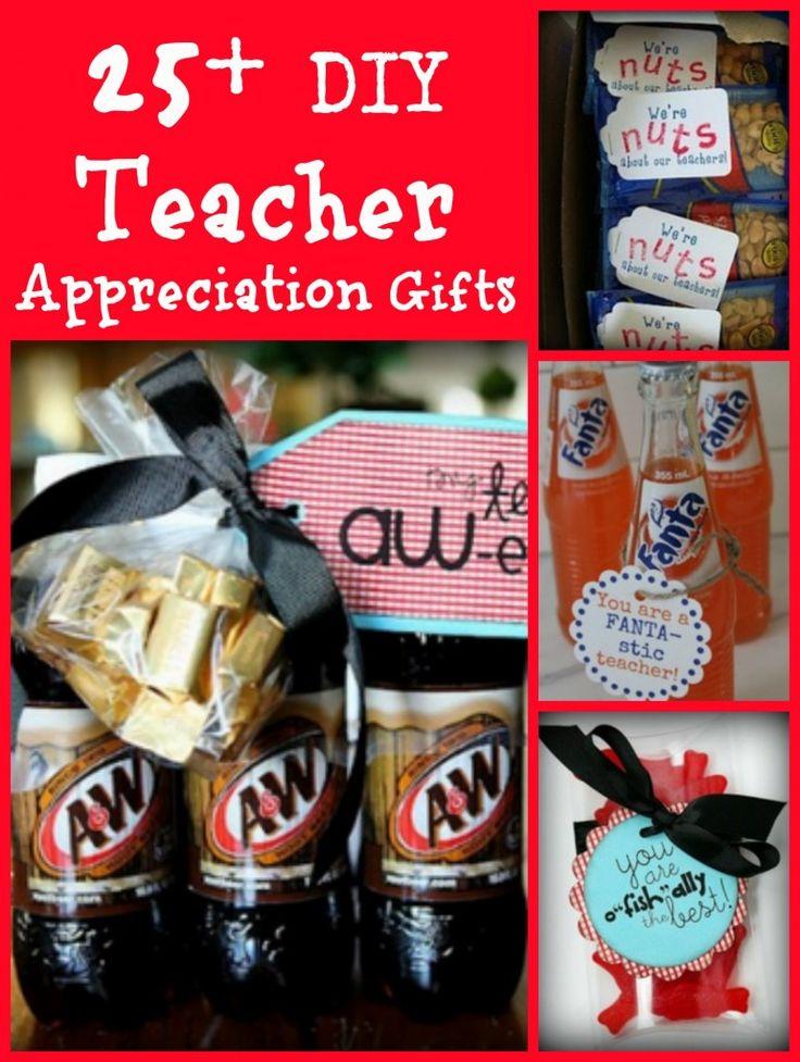 25 Homemade Frugal Teacher Appreciation Gift Ideas