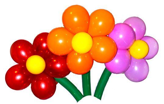 Закажи гелиевые шары - получи в подарок цветы из шаров