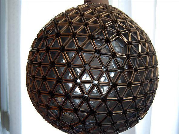 Origami Tetra Pak Lamp